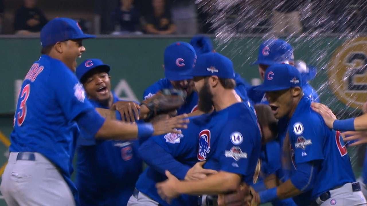 10/7/15: Arrieta, Schwarber help lead Cubs to NLDS