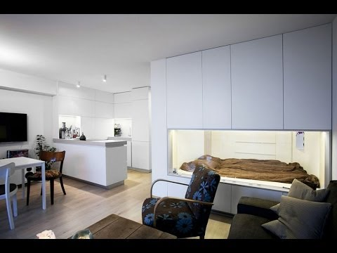 Dise o de mini departamento con planos youtube for Diseno interior departamento