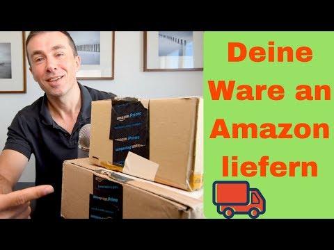 Wie du den deine FBA Produkte an das Amazon Lagerhaus lieferst, Versandplan erstellen