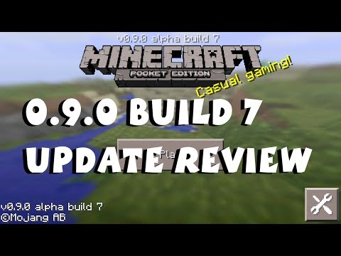 Minecraft Pocket Edition 0.9.0 Update Review Build 7