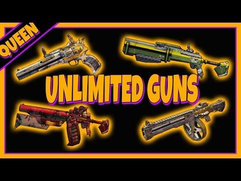 Orange legendary weapons grinder glitch borderlands pre sequel