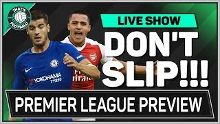CHELSEA Take on ARSENAL | MAN UTD Entertain Struggling EVERTON | Premier League Preview