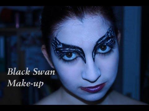 tutoriel maquillage black swan youtube. Black Bedroom Furniture Sets. Home Design Ideas