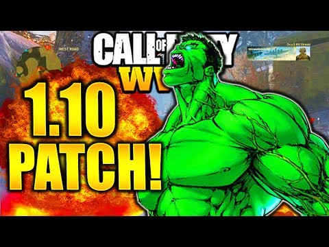 *NEW* HUGE UPDATE CALL OF DUTY WW2 1.10 PATCH NOTES UPDATES! NEW DLC GUNS 1.10 PATCH UPDATE!