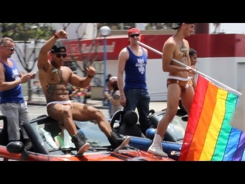 Los Angeles Gay Pride Parade 2013