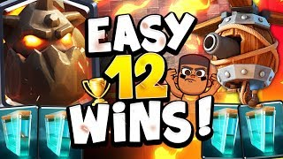 HOW TO WIN YOUR FIRST 12 WIN GRAND CHALLENGE in CLASH ROYALE