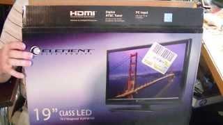 FPV Monitor from WalMart TV - Runs on 12 Volts DC!