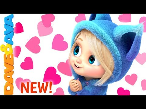 💞 Happy Valentine's Day | Skidamarink Nursery Rhyme | Kids Songs and Baby Rhymes from Dave and Ava💞