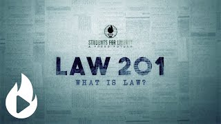 Welcome to Law 201 Course - SFL Academy