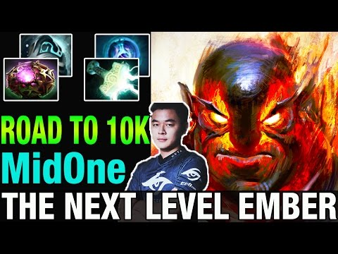 ROAD TO 10K - MidOne Plays Ember Spirit Amazing 9k Skill - Dota 2