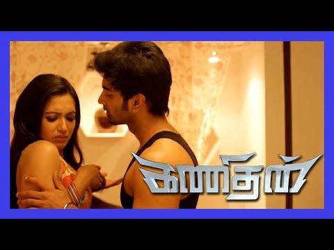 Catherine Tresa calls Atharvaa for Night Stay | Kanithan Scenes | Catherine Tresa surprises Atharvaa