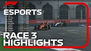 F1 Esports Pro Series 2019: Race Three Highlights