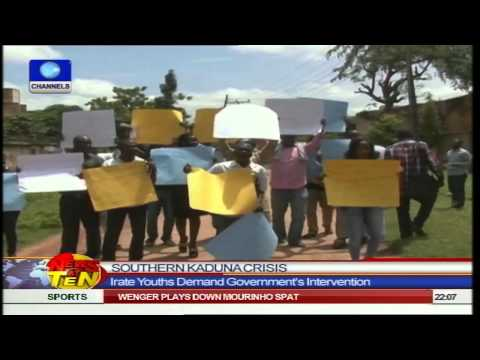 News@10: President Goodluck Jonathan On Private Visit To Lagos 051014 Pt1