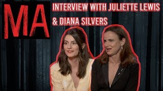 Juliette Lewis and Diana Silvers on Psychological Horror in 'MA' Interview