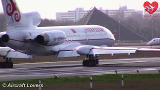 TUPOLEV TU-154M Kyrgyzstan Government │ Takeoff During Heavy Storm  │ Germany, Berlin-Tegel 31.03.15