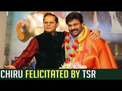 Chiranjeevi Felicitated By T. Subbarami Reddy | #Khaidino150 | Boss Is Back | TFPC