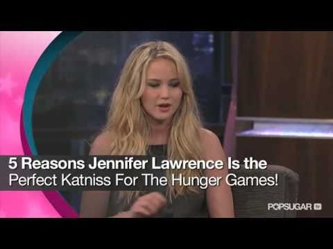 Five Reasons Jennifer Lawrence Is the Perfect Katniss For The Hunger Games!