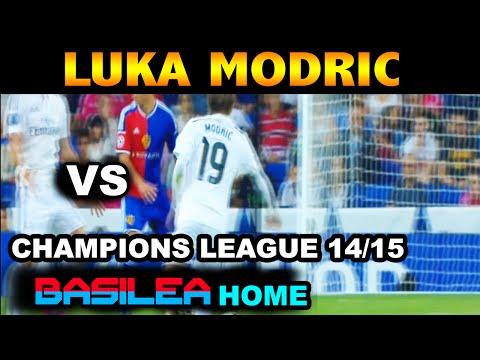 Luka Modric vs Basilea/Basel FC ( 16/09/2014 - 16.09.2014 ) [HD]