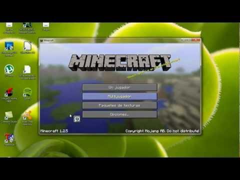 como descargar e instalar minecraft sin errores 1.2.5