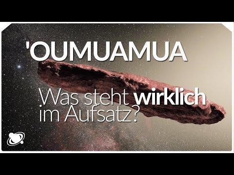 Oumuamua - Was steht wirklich im Aufsatz? (2018)