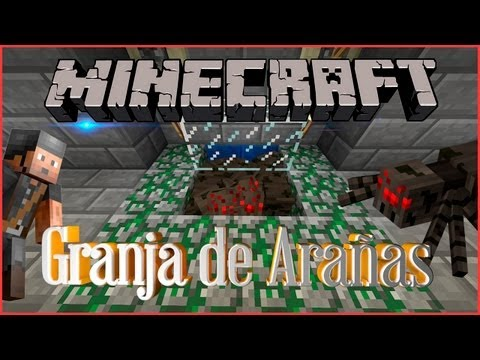 Minecraft   Tutorial: Cómo hacer una granja de experiencia de ARAÑAS (FÁCIL Y RÁPIDO) (1.6 - 1.8)