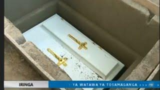 FULL VIDEO:MAZISHI YA MAPACHA WALIOUNGANA(MARIA NA CONSOLATA) MKOANI IRINGA