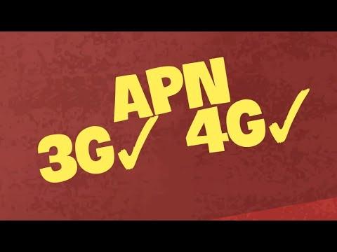 Como configurar APN 3G Nextel