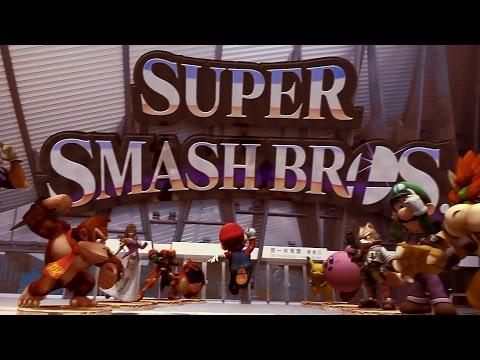 Super Smash Bros. - Mario Jumps into Battle! (Wii U & Nintendo 3DS)