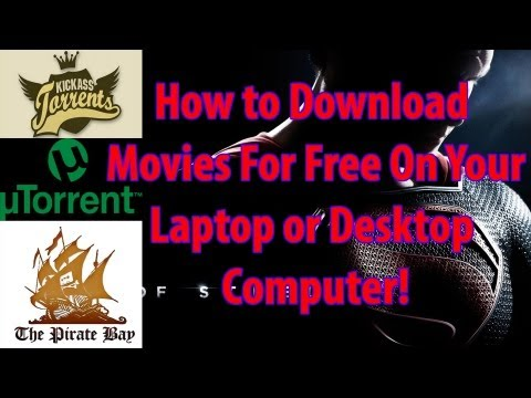 How to Download Free Movies on Your Laptop or Desktop Computer! Updated 2013!