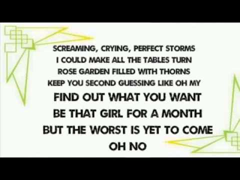 Taylor swift blank space lyrics youtube
