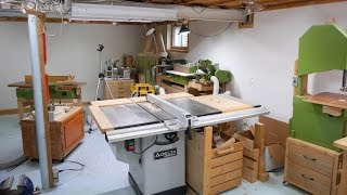 The last tour of my basement workshop