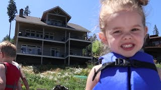 WEEKEND AT THE LAKEHOUSE!! | COEUR D'ALENE LAKE