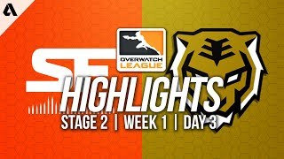San Francisco Shock vs Seoul Dynasty | Overwatch League Highlights OWL Stage 2 Week 1 Day 3