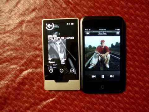 Zune HD vs. I pod touch