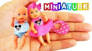 DIY No-Sew Miniature Barbie Baby Clothes - DIY Miniature Baby Stuff