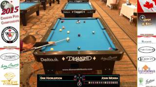 2015 Canadian 8-Ball Championship - Erik Hjorleifson (ON) vs. John Morra | FINAL