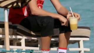 justin bieber Ryan Butler  in Miami Beach! 2012
