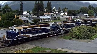 THE MAJESTIC ROCKY MOUNTAINEER, 3 Engines & 20 Cars!