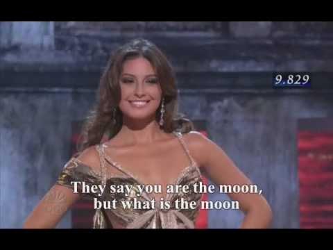 Taliana Vargas - Model & Miss Universe 2008 قالوا القمر