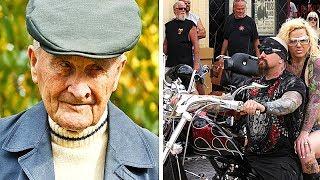 Um Homem de 91 Anos é Humilhado por 3 Motoqueiros, mas Ele Se Vinga de um Jeito Incrível