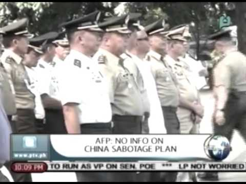 NewsLife: AFP: No info on China sabotage plan || Sept. 17, 2015