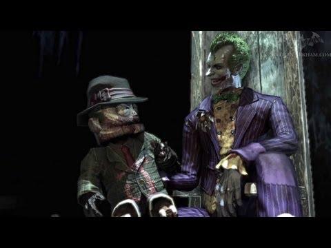 Batman arkham asylum play as the joker