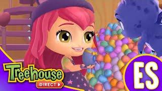 Little Charmers | Feliz Día del Conejo Brillante! | Feliz Pascuas de Treehouse Direct Español!!