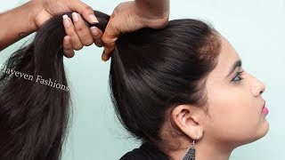 New Wedding/Party Hairstyles for girls || hair style girl || Easy hairstyles || cute hairstyles 2019