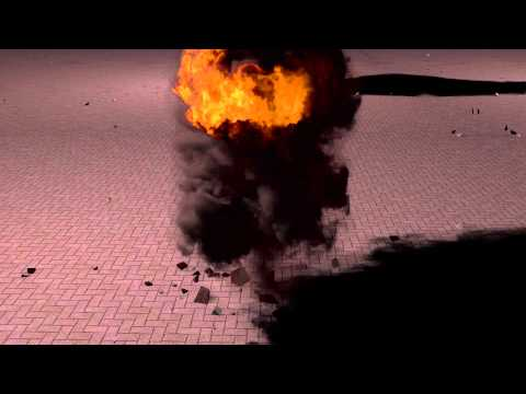Explosion In Cinema 4D Using Turbulence FD