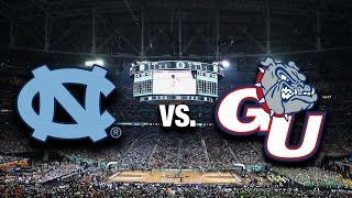 North Carolina vs. Gonzaga For The National Championship