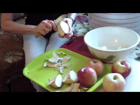 Как в домашних условиях высушить яблоки без сушилки 234