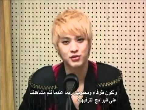 KBS World Radio Arabic Interview with MBLAQ - Part 1 ‏