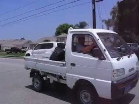 Suzuki Carry Kie Mini Truck Nose wheelie Video