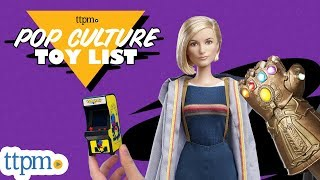 TTPM's Top Pop Culture Toys featuring Dr. Who, Harry Potter, Disney, Arcade Games & More